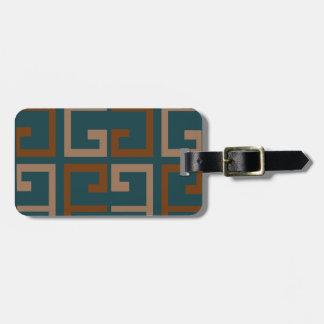 Manly Tone Tile Bag Tag