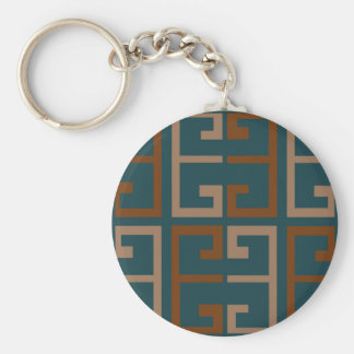 Manly Tone Tile Keychain