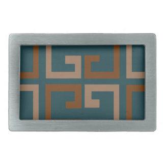 Manly Tone Tile Rectangular Belt Buckle