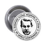 Manmade Global Warming Hoax 2 Inch Round Button