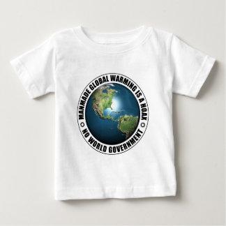Manmade Global Warming Hoax Baby T-Shirt