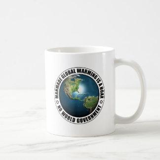 Manmade Global Warming Hoax Coffee Mug