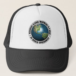 Manmade Global Warming Hoax Trucker Hat