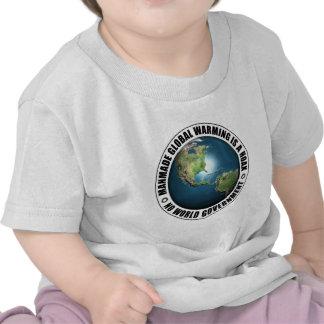 Manmade Global Warming Hoax Shirt