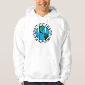 Manmade Global Warming Is A Hoax Hooded Sweatshirts