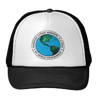 Manmade Global Warming Is A Hoax Trucker Hat