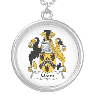 Mann Family Crest Necklaces
