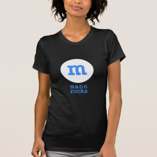 mann rocks t shirt