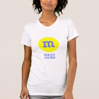Mann Rocks (white/yellow/blue) Tshirts