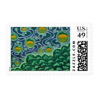 Manna Vesicles (Texas Landscape) Stamps