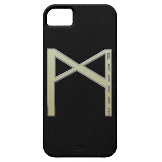 Mannaz Rune gold iPhone SE/5/5s Case
