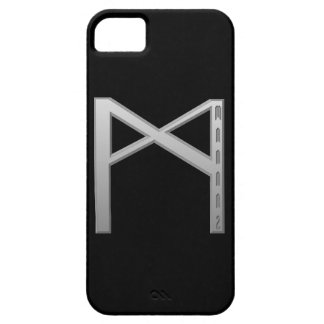 Mannaz Rune grey iPhone SE/5/5s Case