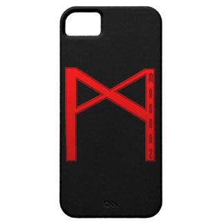 Mannaz Rune red iPhone SE/5/5s Case