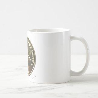 MANNED SPACE SHUTTLE FIRST FREE FLIGHT COFFEE MUG