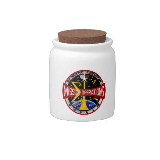 Manned Spacecraft Center's Mission Control Candy Jars