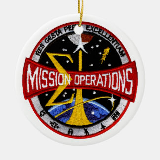 Manned Spacecraft Center's Mission Control Christmas Ornaments