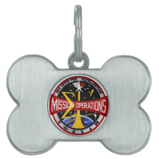 Manned Spacecraft Center's Mission Control Pet ID Tag
