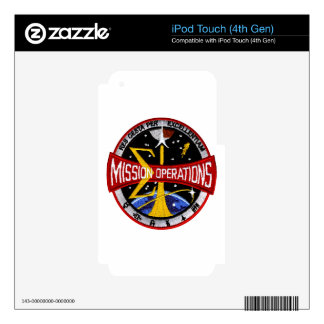 Manned Spacecraft Center's Mission Control Skins For iPod Touch 4G