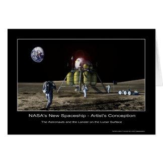 MannedMarsMission-133827main_lander_hi Greeting Card