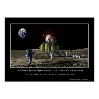 MannedMarsMission-133827main_lander Poster