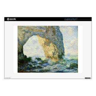 Manneporte, Rock Arch - Étretat (Normandy) - Monet Laptop Decal
