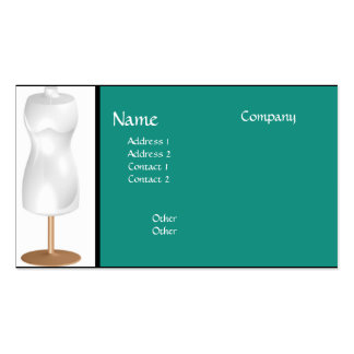 Mannequin #3 Business Card
