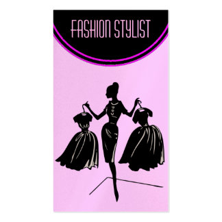 Mannequin Fashion Stylist Double-Sided Standard Business Cards (Pack Of 100)