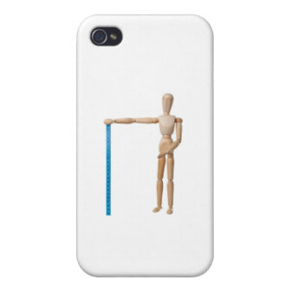 Mannequin holding a measuring tape iPhone 4 cover