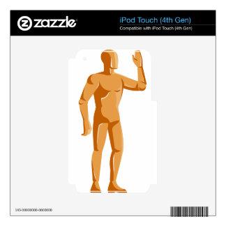 mannequin human anatomy standing retro iPod touch 4G skin