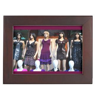 Mannequin Queens Keepsake Box