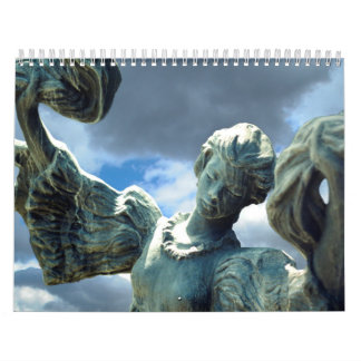 Mannequins and Stone Ornaments Calendar
