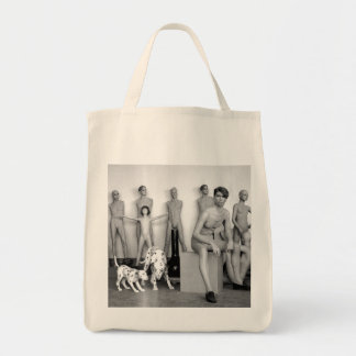 MANNEQUINS - URBAN Grocery Tote Bag