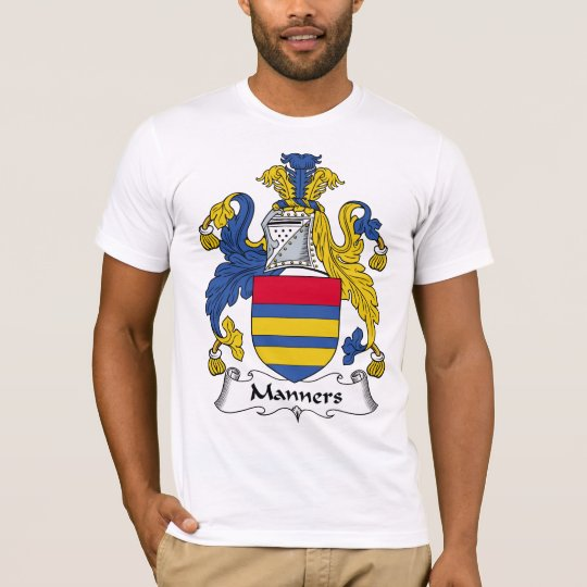 Manners Family Crest T-Shirt