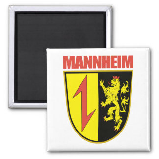 Mannheim 2 Inch Square Magnet