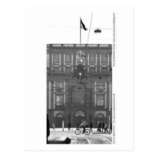 Mannheim - university in the lock postcard