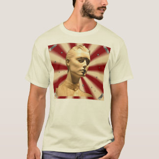 MANNIKAN RED CREAM  T-Shirt