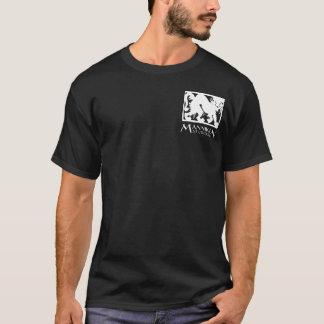Mannikin Studios basic logo T-shirt, black T-Shirt