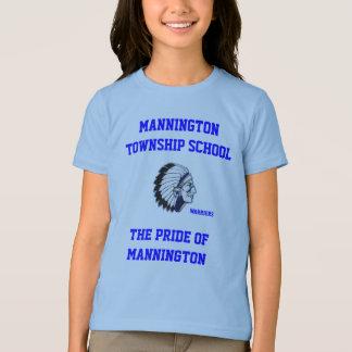 MANNINGTON TOWNSHIP SCHOOL GIRLS RINGER TEE SHIRT
