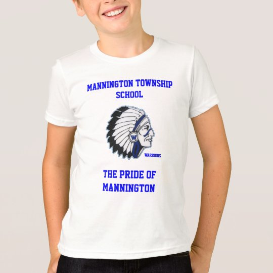 MANNINGTON TOWNSHIP SCHOOL KIDS RINGER TEE SHIRT