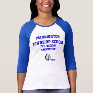 Mannington Township School Ladies 3/4 sleeve tee