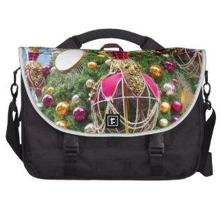 Manniquins del árbol de navidad bolsas para portátil