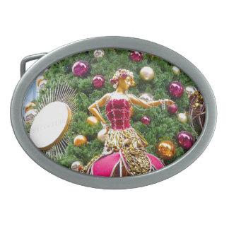 Manniquins del árbol de navidad hebillas de cinturon ovales