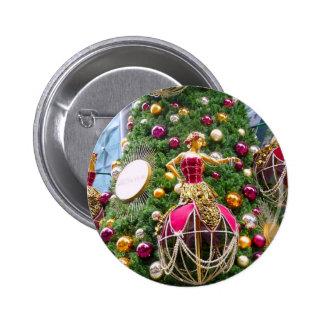 Manniquins del árbol de navidad pin