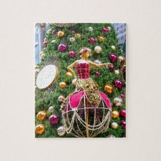 Manniquins del árbol de navidad puzzles