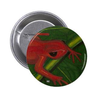 Manny el Mantella (rana) Pin Redondo 5 Cm
