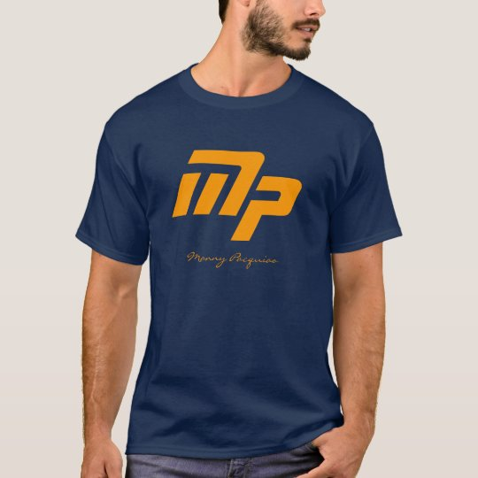 Manny Pacquiao Navy Blue T-Shirt