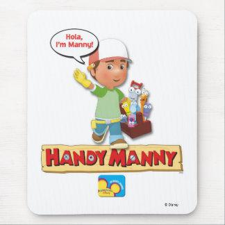 Manny práctico Disney Alfombrilla De Ratón