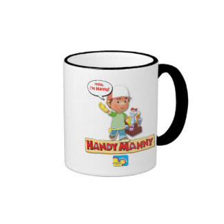 Manny práctico Disney Taza De Dos Colores