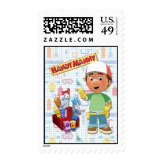 Manny práctico y sus herramientas que hablan sellos postales