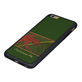Manny The Mantella (Frog) Carved Maple iPhone 6 Plus Bumper Case